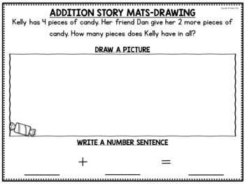 FREE SAMPLE Kindergarten Math Centers for the Year- Common Core Math Centers