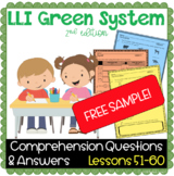 LLI GREEN Kit Comprehension Lesson 51 (E) FREE