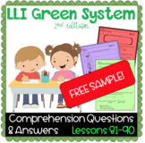 LLI GREEN Kit Comprehension Lesson 81 (H) FREE