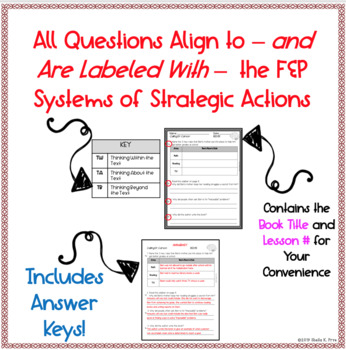 FREE SAMPLE- LLI Red System - Comprehension Questions & Answers - Lesson 65 (M)