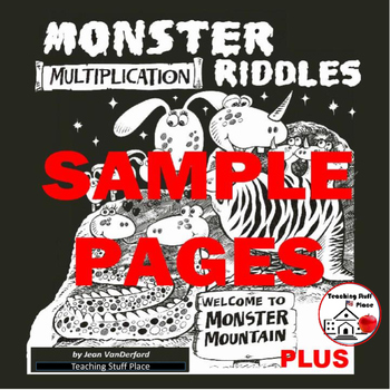 Freethnster Multiplication Riddles D Moreeebie