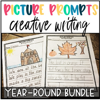 Creative Writing Prompts-Writing Centers FREE SAMPLE