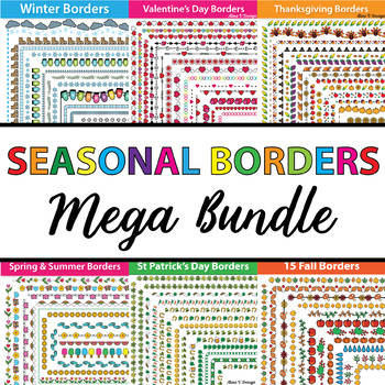 FREE SAMPLE OF 404 Seasonal Borders and Frames