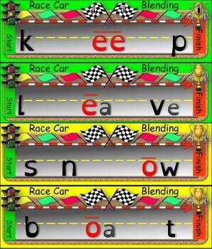 **FREE SAMPLE** Race Car Blending (Long i, e, and o)