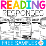 FREE SAMPLE Reading Comprehension Worksheets