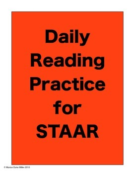 FREE SAMPLE STAAR Practice for State Standardized Testing