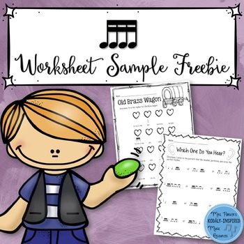 FREE SAMPLE Sixteenth Note Worksheets