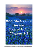FREE SAMPLE: The Book of Judith Study Guide (Ch. 1-5)
