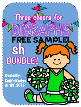 FREE SAMPLE - Three Cheers for Digraphs! - SH