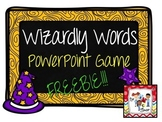 FREE SAMPLE! Wizardly Words Level 2 - PPT Game