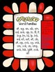 FREE SAMPLE-Popcorn NO PREP Cut/Paste Word Work- Word Family Edition