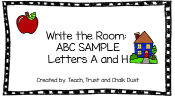 FREE SAMPLE abc write the room