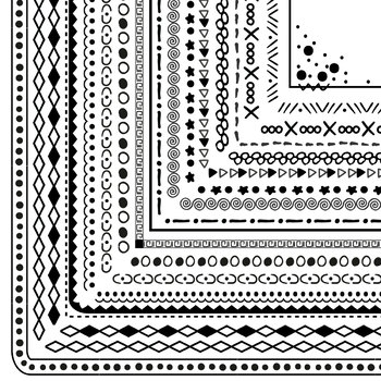 FREE SAMPLE of 100 Non-Seasonal Borders and Frames