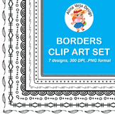 FREE SAMPLE OF 150 Borders and Frames