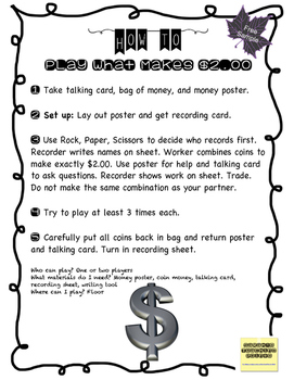 FREEbie Sample Intermediate Math Stations for Growth Mindset and Risk Taking!