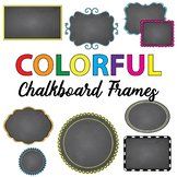 FREE SAMPLE of 490 Chalkboard Frames Mega Bundle