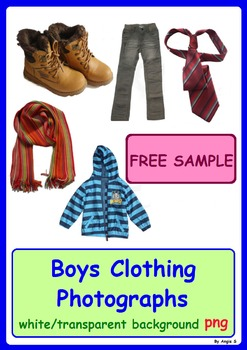 FREE SAMPLE of Boys Clothing Photos