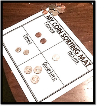 FREE SAMPLE of Introduction to Coins Unit for Kindergarten and 1st Grade