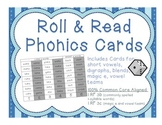 """FREE SAMPLE of """"Roll and Read Phonics"""" to use and reuse for 1.RF.3"""
