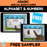 FREE SAMPLER Arabic Letters and Numbers Tracing for Boom C