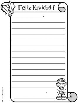 FREE SANTA LETTERS - Writing - Seasonal