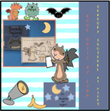 FREE SCAREDY SQUIRREL AT NIGHT RETELLING PAGE