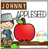 FREE SENTENCE SCRAMBLE -JOHNNY APPLE SEED THEMED