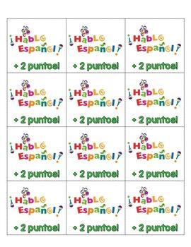 FREE SPANISH CLASSROOM TICKETS