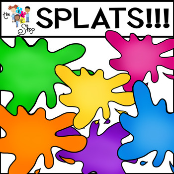 FREE! SPLATS Clipart Set
