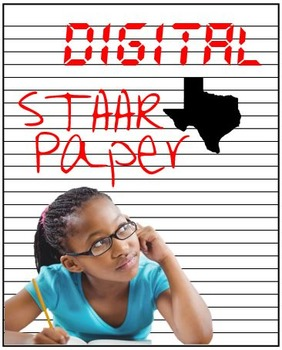 FREE! STAAR writing paper