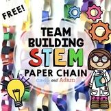 FREE STEM Activity: Paper Chain STEM Challenge