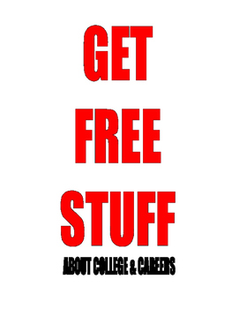 FREE . . . STUDENTS . . . GET FREE STUFF FOR COLLEGE and CAREES