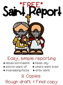 FREE Saint Research Report