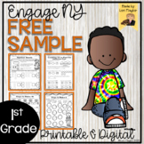 FREE Sample Engage NY Grade 1 Module 1 Lessons 1-24 Printa