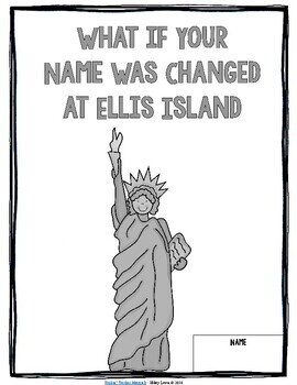 FREE Sample - If Your Name Was Changed at Ellis Island - Immigration Book Study