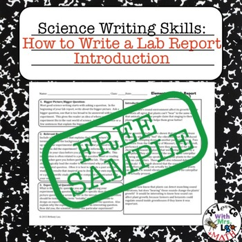 Report writing for high school students