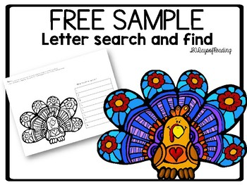 FREE Sample Letter Search and Find