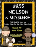 FREE Sample: Miss Nelson Is Missing Activity Unit For The First Week Of School