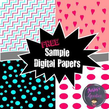 FREE Sample Pack Digital Papers!