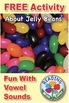 FREE Sample Phonics Bingo About Jelly Beans: Learn Vowel Sounds