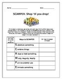 FREE Sample SCAMPER Activity