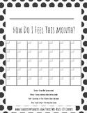 FREE Sample! Self Regulation & Mental Health Month Check-in- Zones of Regulation
