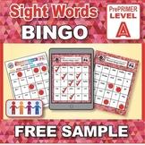 FREE Sample Sight Words Bingo: Reading Phonics Games Kinde