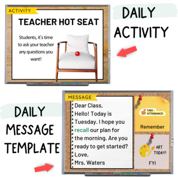 FREE Morning Meeting Slides