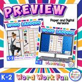 FREE Sample Word Ladders Word Work with Google Slides - Di