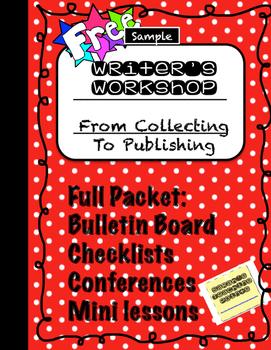 FREE Sample Writer's Workshop Revising