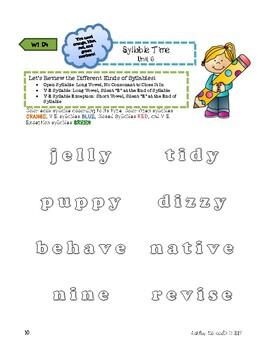 FREE Sample of FUN-Phonics Level 3 Unit 1