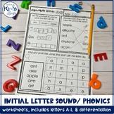 FREE Sample of Phonics/ Letter Sound Worksheet Pack!