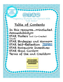 FREE Sample of STAR -- successful students / successful adults!