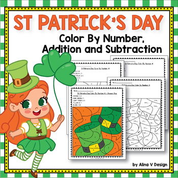 FREE Sample of St Patrick's Day Activities For Kindergarten (Math No Prep)